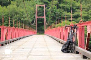 山の中での自転車生活