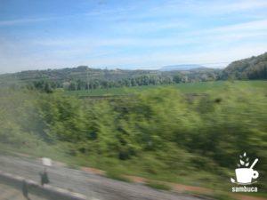 ローマから鉄道でトスカーナへ
