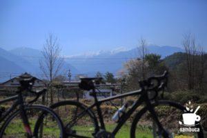 残雪の木曽駒ヶ岳