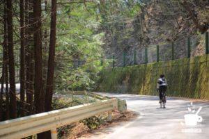 木曽福島から離れていくと林間コースに