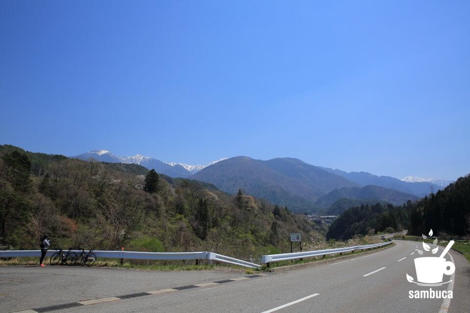 交通量も少ない絶景ルート