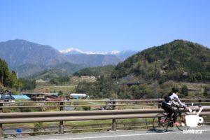 中山道ウォーキングとはまた違う道を自転車で
