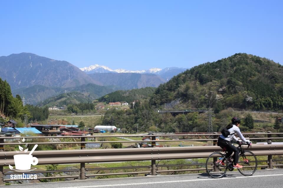 中山道ウォーキングのコースとは違う道を自転車で!