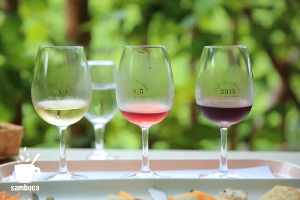 ココ・ファーム・ワイナリーのワインたち