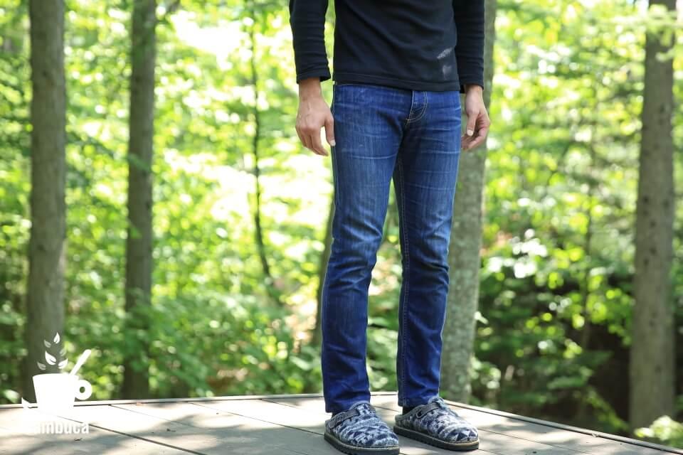 パタゴニアのジーンズ、穿いてみたところ