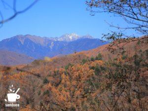 秋の穂高連峰