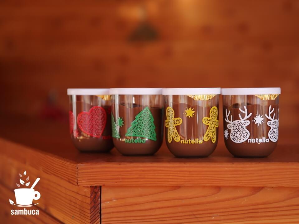 nutellaのクリスマスバージョン