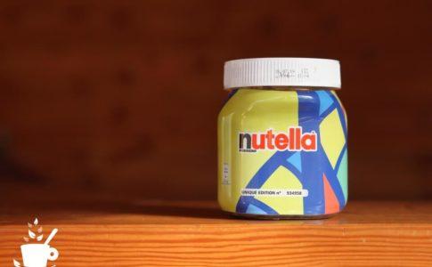 スペインのnutella(ヌテラ)