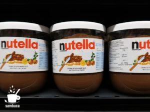 イタリアのnutella(ヌテッラ)