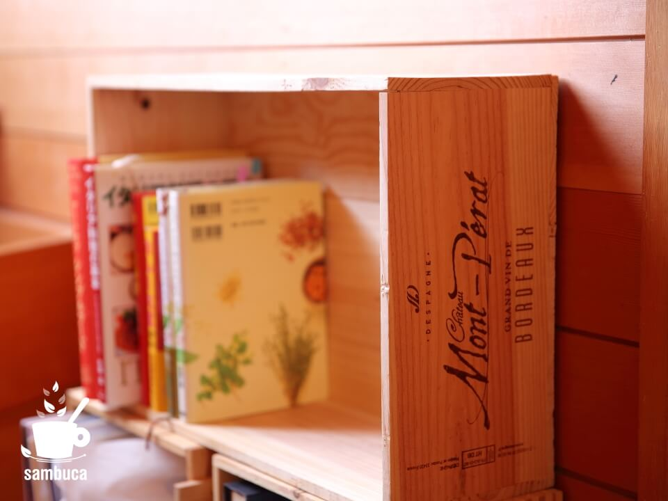 シャトー・モン・ペラ(CHATEAU MONT PERAT)のワイン木箱