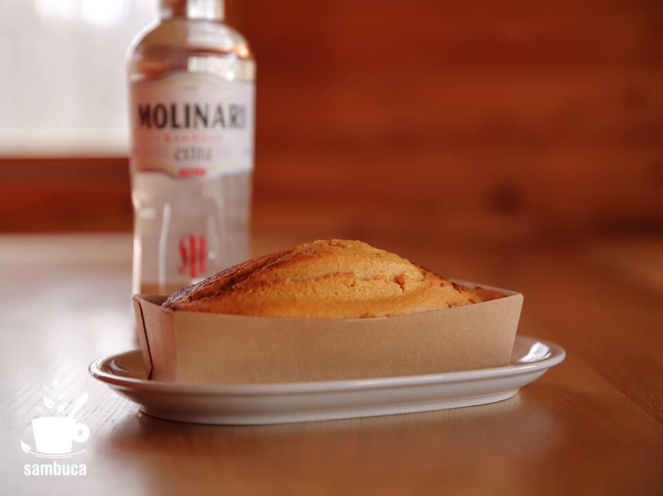 サンブーカのパウンドケーキ