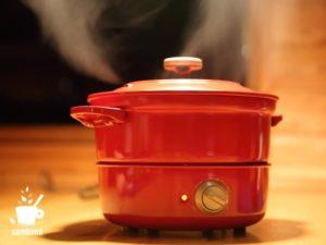 鍋から出る湯気