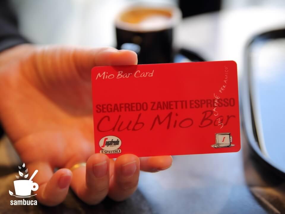 Club Mio Bar(クラブ ミオ バール)のCard Rosso(赤いカード)