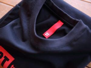 3TのTシャツのタグ