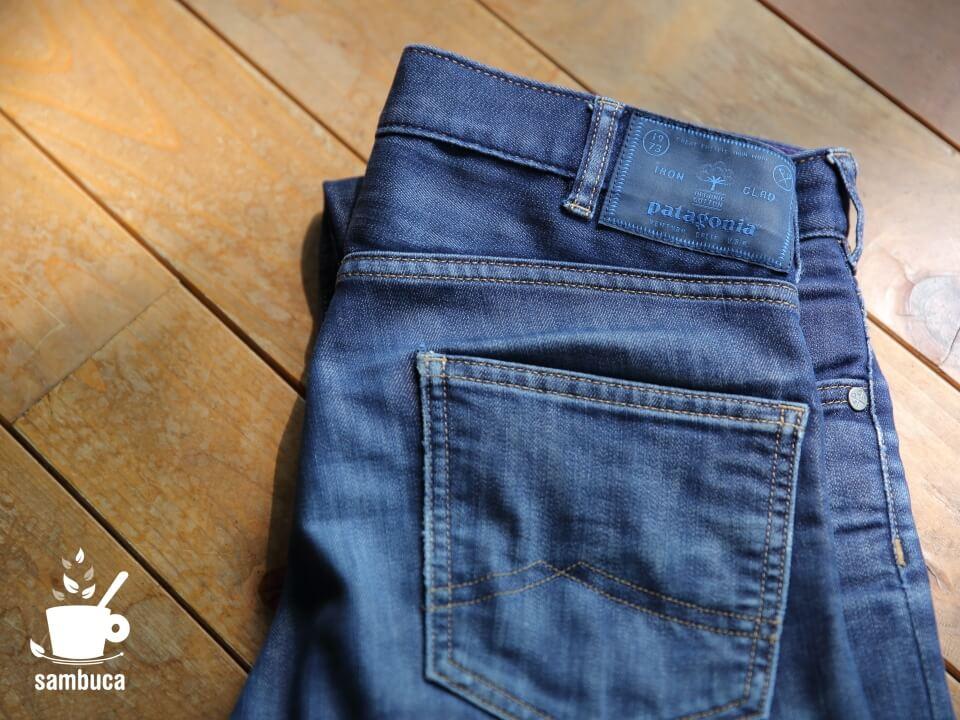 パタゴニアのジーンズ