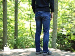約2年、穿き込んだpatagonia(パタゴニア)のジーンズの色落ち