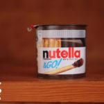 グリッシーニ付きのヌテラ「nutella & GO!」
