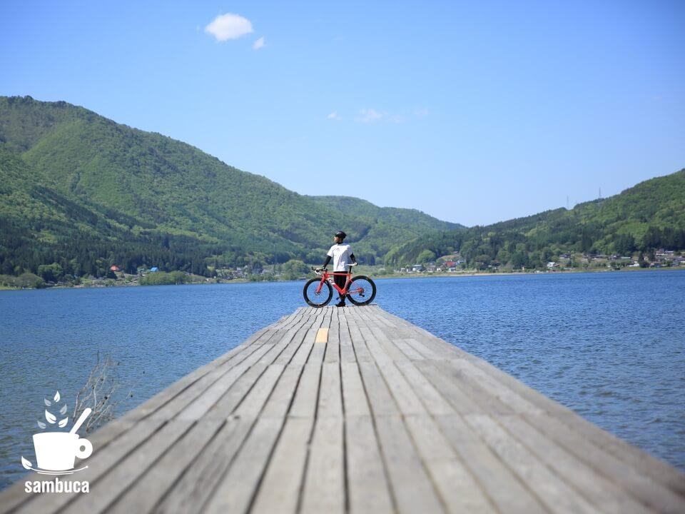 木崎湖キャンプ場、みずほ桟橋と3T