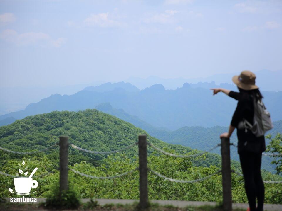 妙義山(見晴台から)