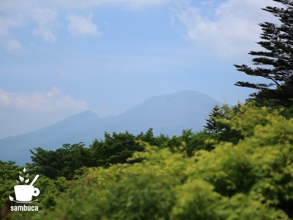 浅間山(見晴台から)