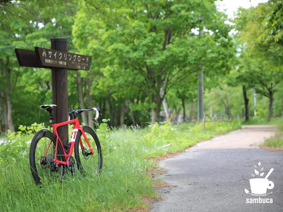 乗鞍高原、サイクリングロード