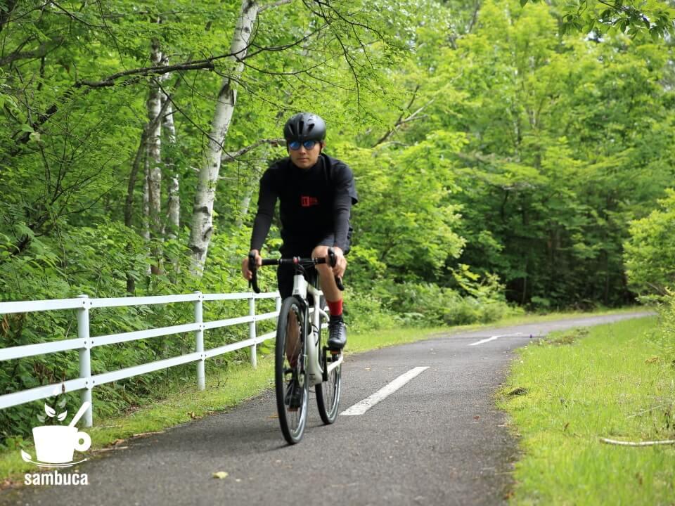 乗鞍高原・サイクリングロードで3Tのエクスプローロを試乗