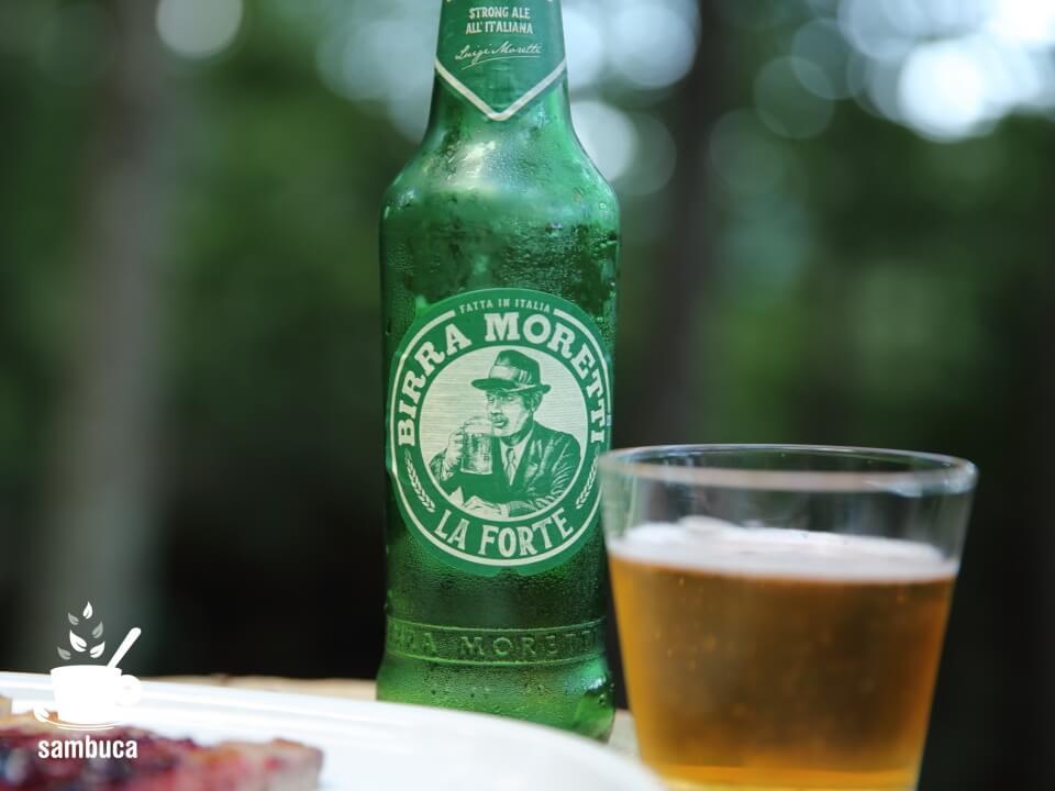 「ラ・フォルテ」のボトルは緑色