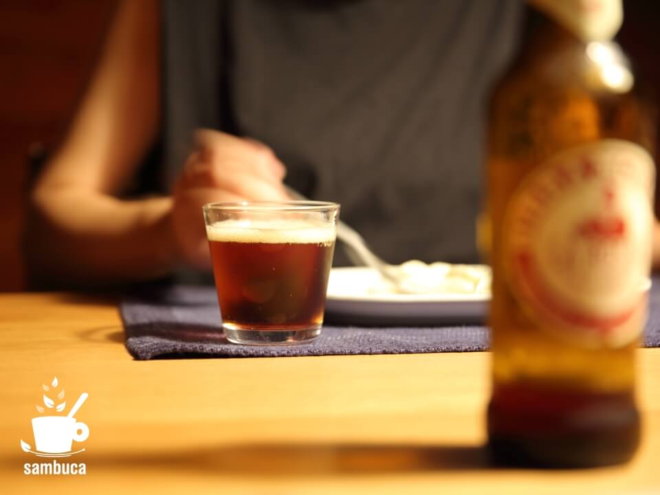 「ラ・ロッサ」は黒ビールタイプ