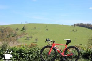 美ヶ原高原と3Tのロードバイク