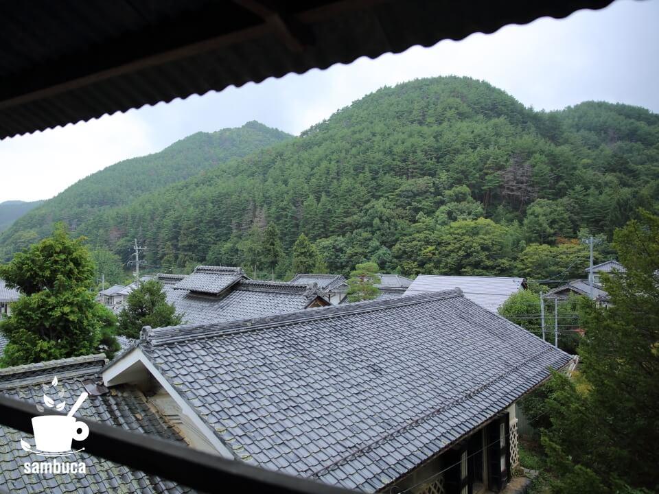 保福寺宿本陣小澤家からの風景