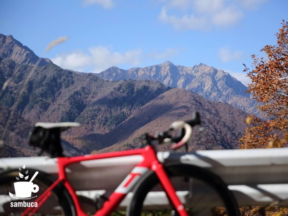 林道小熊黒沢線からの眺望