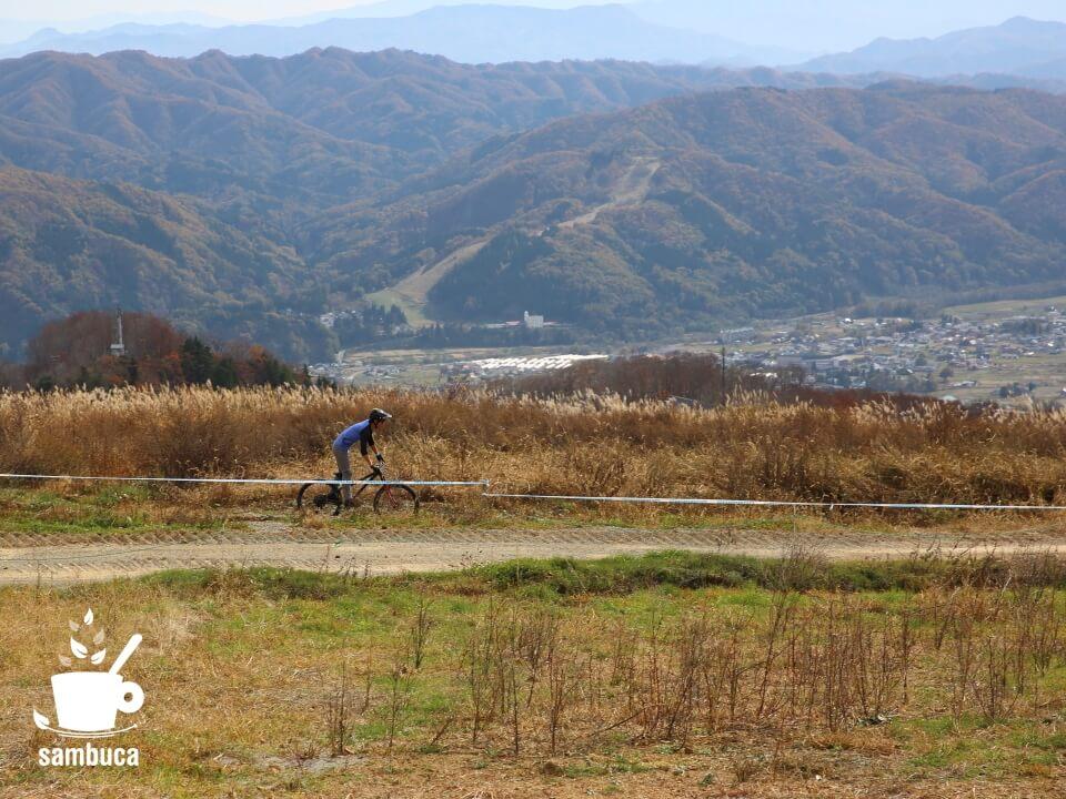 絶景マウンテンバイクコース(白馬岩岳MTBパーク)