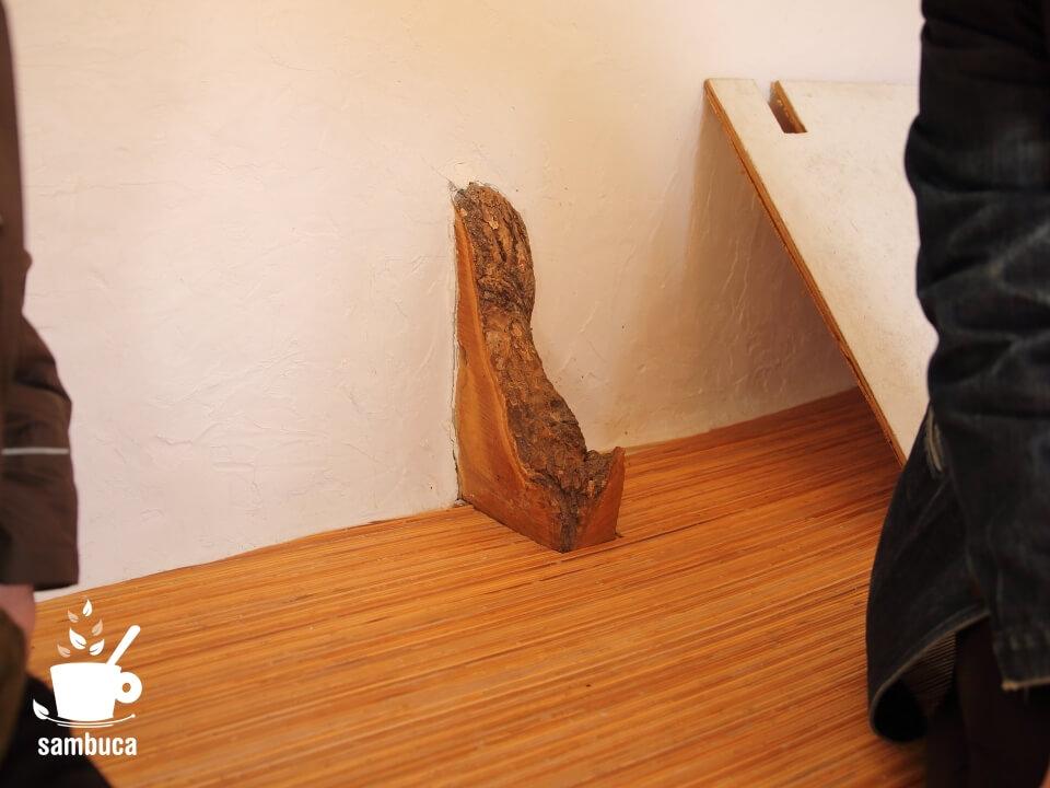 柱のクリの木