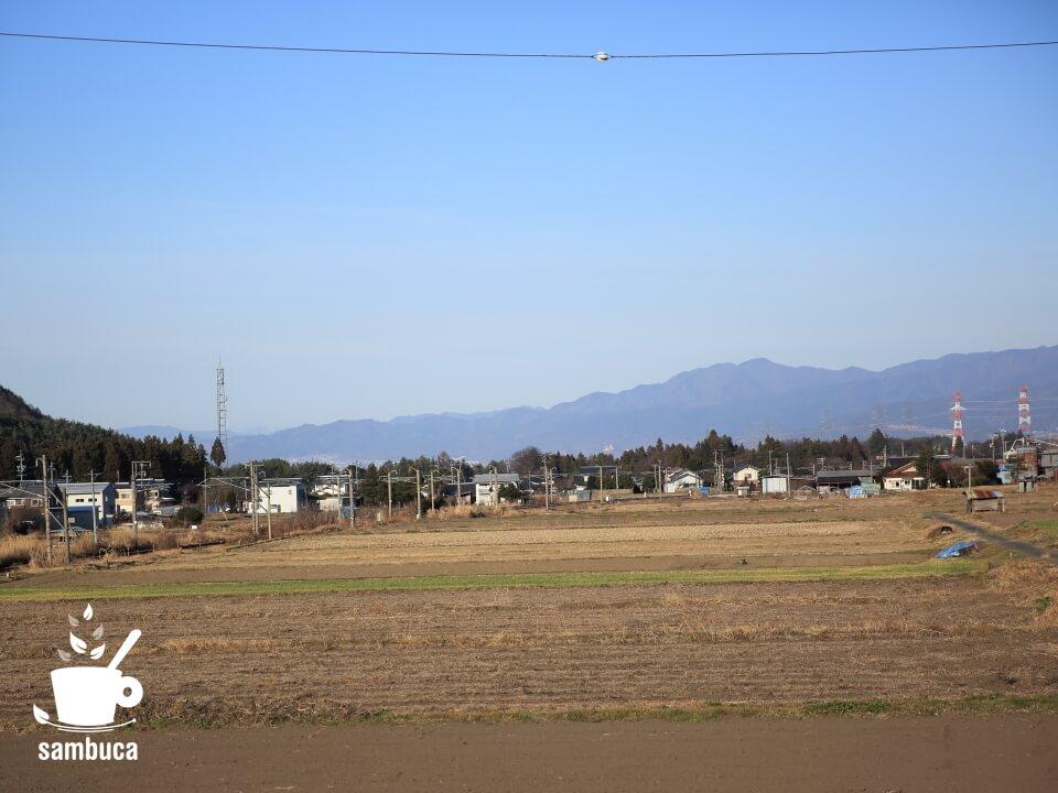 牧野交差点付近からの風景