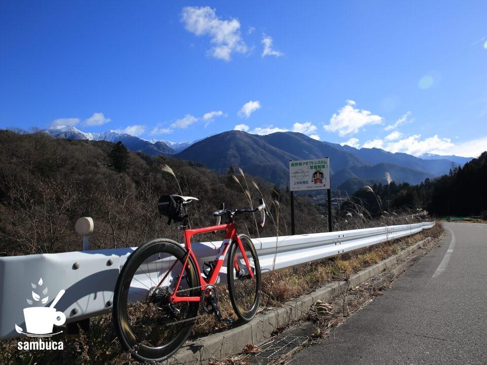 県道508号線(上松南木曽線)