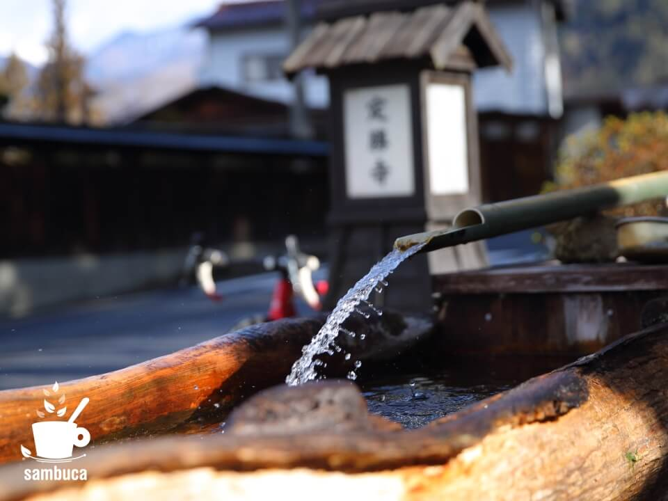 須原宿の水舟