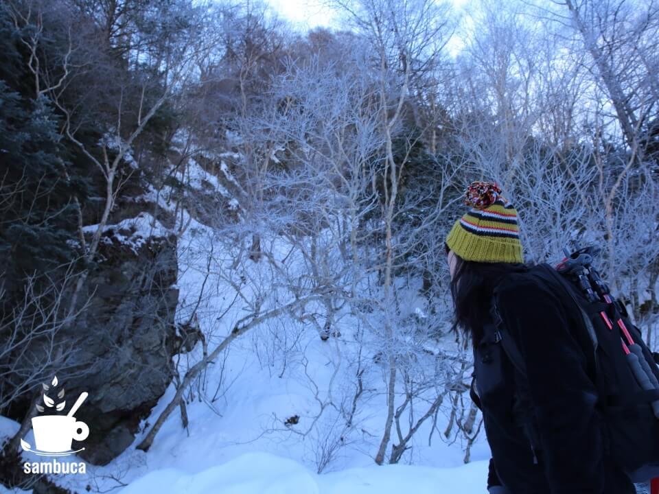 雪崩の危険個所