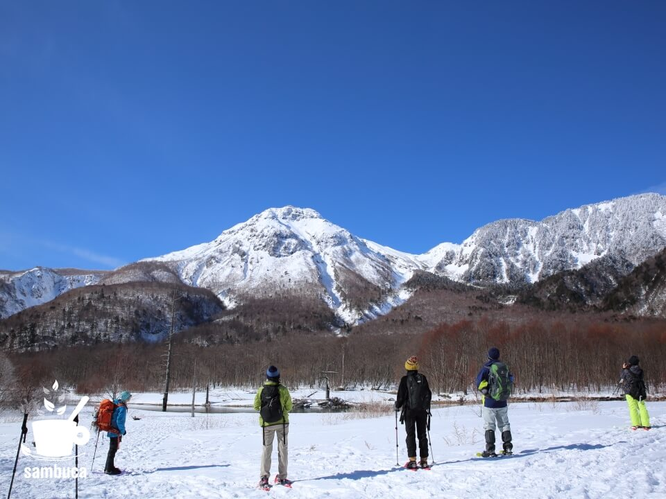 焼岳を眺めます