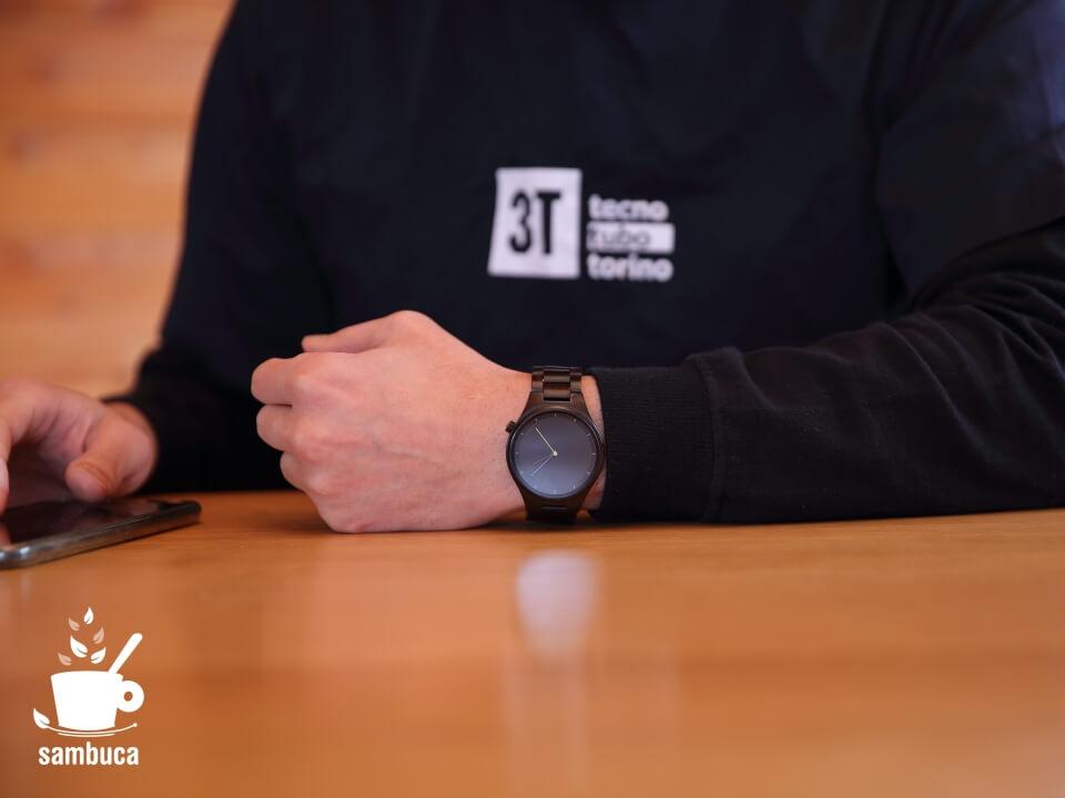 MAM、バルセロナの木製の腕時計ブランド