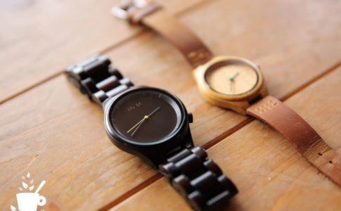 MAM(マム)の木製の腕時計