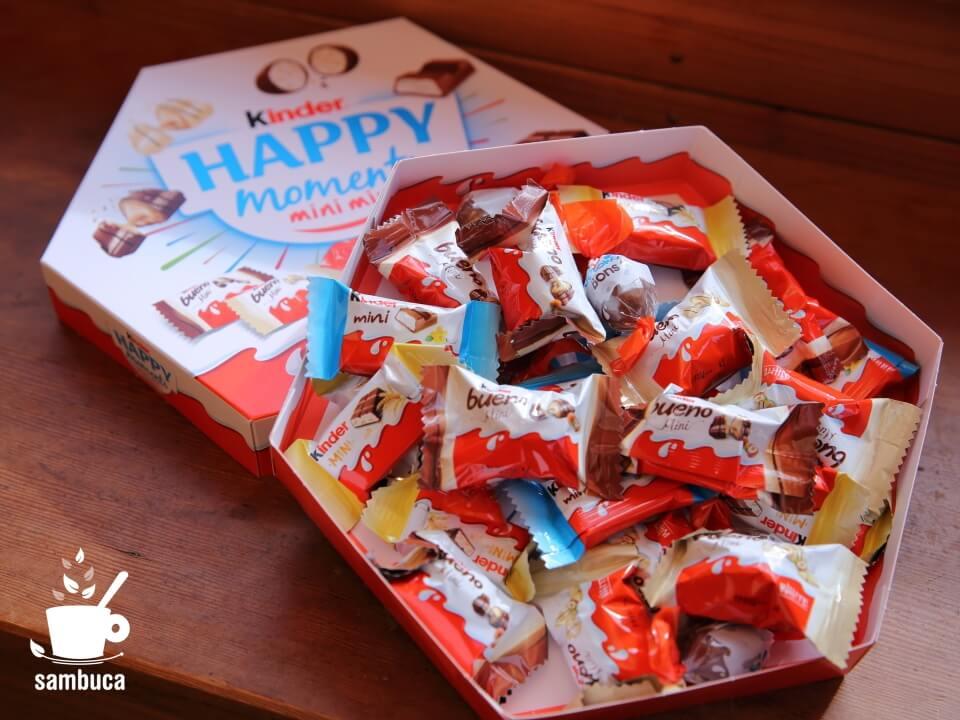 5種類のキンダーのお菓子が入った「ハッピーモーメント」