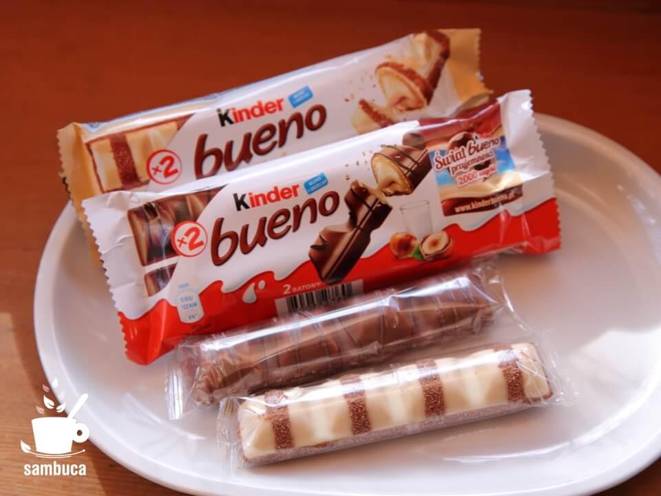 外側がチョコでコーティングされた「ブエノ」