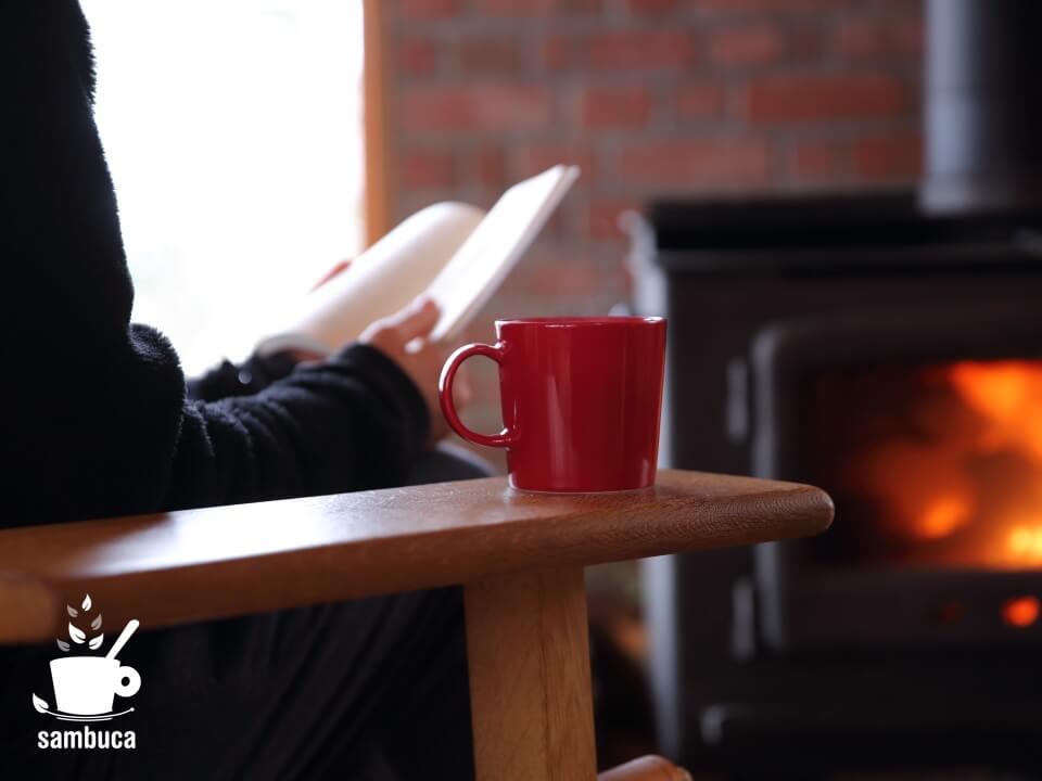 ネスプレッソのお手軽・本格コーヒーで読書タイム