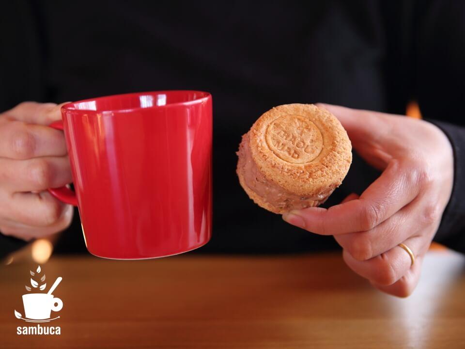 コーヒーとよく合う味です