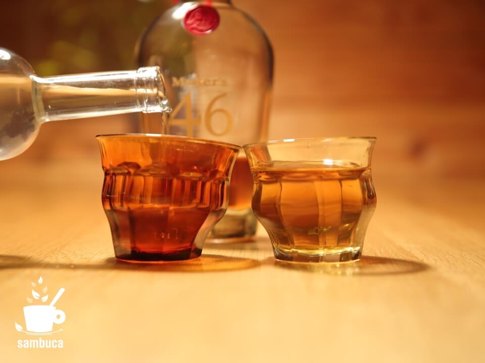 ウイスキーのシラカバ樹液割り