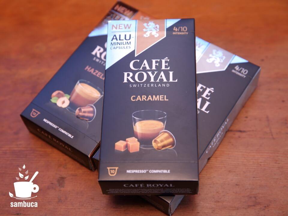 CAFE ROYAL(カフェ ロイヤル)のネスプレッソ用カプセル