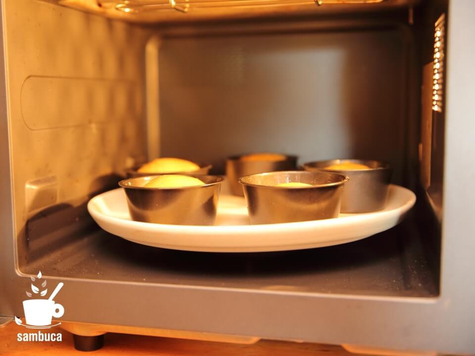 オーブンで焼きます