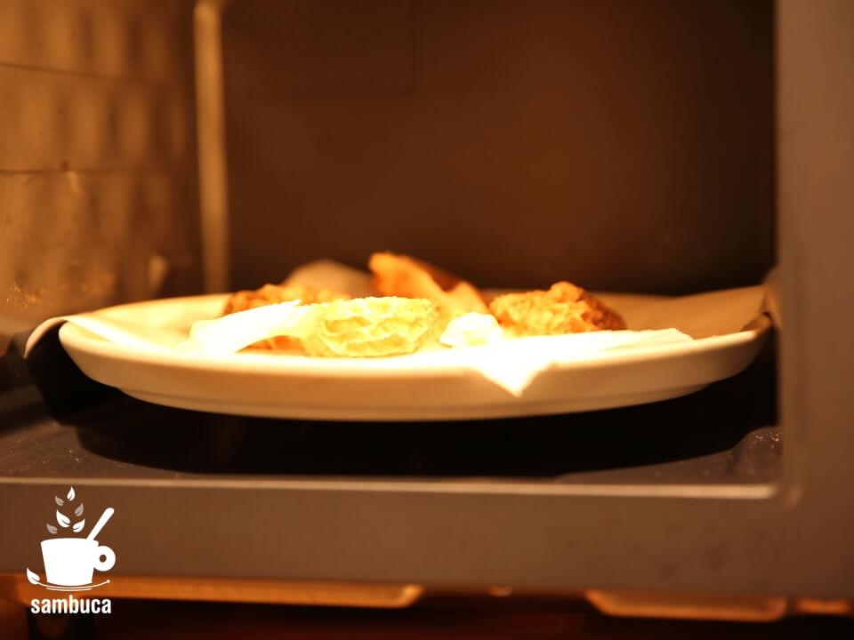 アミガサダケをオーブンで焼き干し