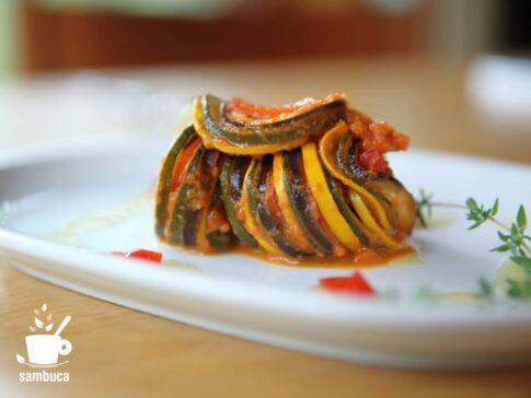 『レミーのおいしいレストラン』のラタトゥイユを再現