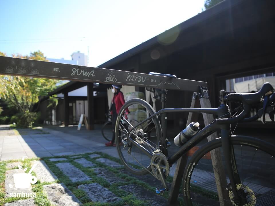 宮坂醸造のバイクラック